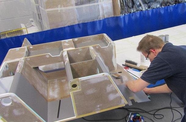 Lavatory composite repair