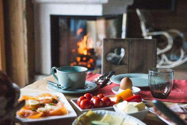 Leckeres Landfrühstück