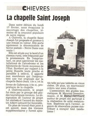 Article - Courrier de l'Escaut (année inconnue) - Document de Paul Maistriaux