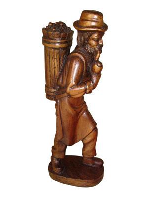 Talla madera Vendimiador
