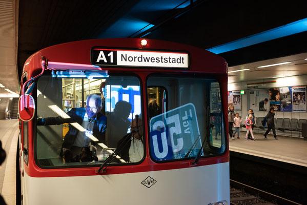 50 Jahre U-Bahn Frankfurt © Friedhelm Herr/frankfurtphoto
