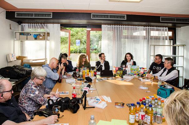 Pressekonferenz © mainhattanphoto/Friedhelm Herr