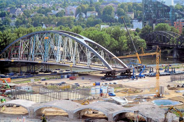 Neue Mainbrücke Ost © Fpics.de/Friedhelm Herr