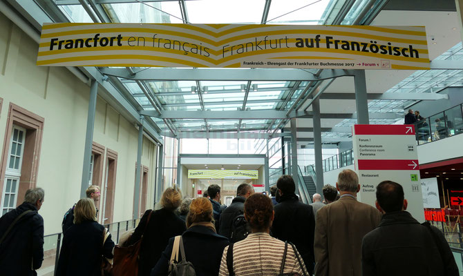 Frankfurter Buchmesse 2017 © Klaus Leitzbach/FRANKFURT MEDIEN.net