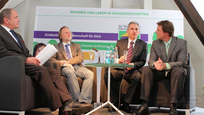 Kooperation der Wohnungsbaugenossenschaften in Frankfurt © dokubild.de