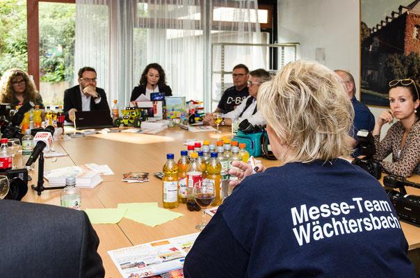 Pressekonferenz Friedhelm Herr/rheinmainbild