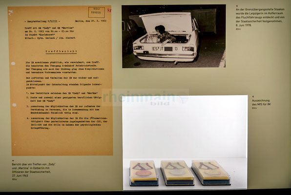 Stasi-Wanderausstellung in Mainz © dokfoto.de/Friedhelm Herr