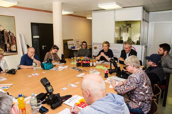Pressekonferenz © FFM PHOTO / Friedhelm Herr