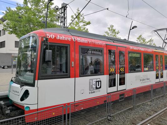 50 Jahre U-Bahn Frankfurt © Klaus Leitzbach/FRANKFURT MEDIEN.net