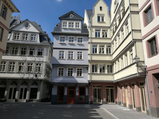 Neue Altstadt Frankfurt © mainhattanphoto/Klaus Leitzbach