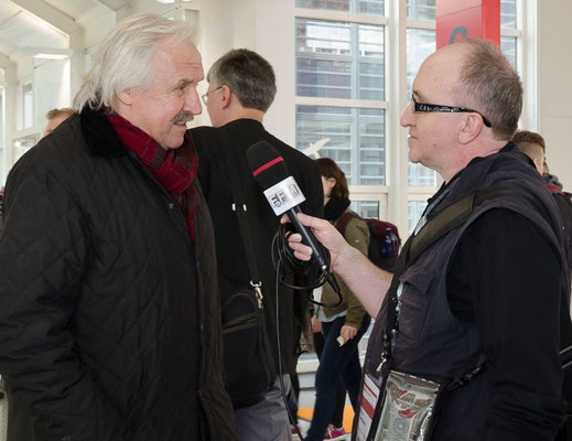FFM JOURNAL INTERVIEW mit Dragoslav Stepanovic © FFM PHOTO / Friedhelm Herr