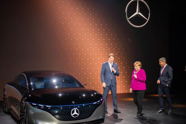 Presserundgang mit Bundeskanzlerin Angela Merkel © Friedhelm Herr/FRANKFURT DOKU