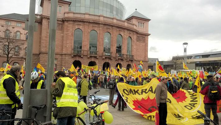 Energiewende retten! Demo in Mainz 2014 © dokfoto.de