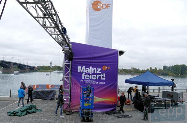 Tag der Deutschen Einheit 2017 in Mainz © Fpics.de/Klaus Leitzbach