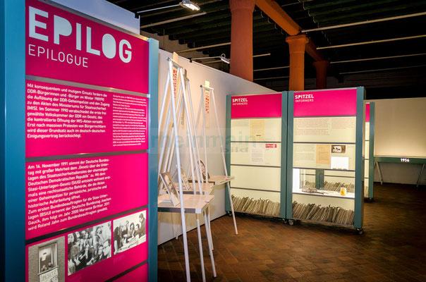 Stasi-Wanderausstellung in Mainz © Friedhelm Herr/FRANKFURT MEDIEN.net