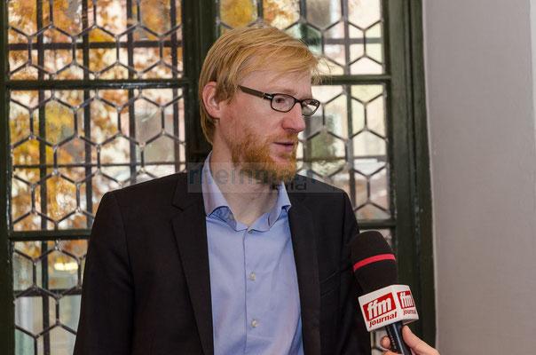 Dr. Henrik Bispink im FFM JOURNAL INTERVIEW Stasi-Wanderausstellung in Mainz © dokfoto.de/Friedhelm Herr