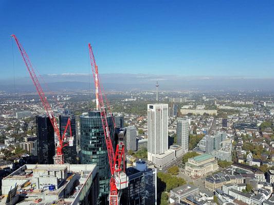 Frankfurt von oben eingesandt von © Lu / Frankfurt am Main