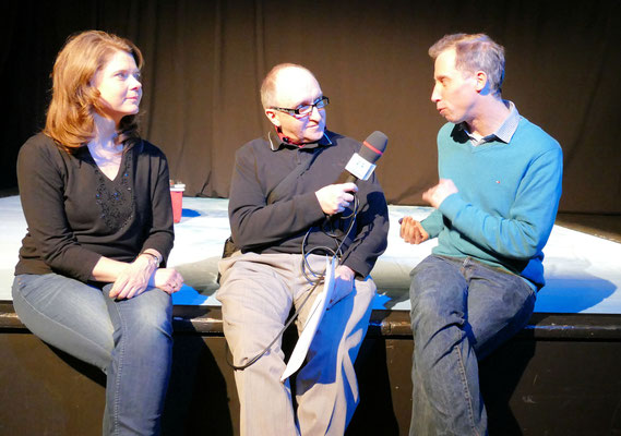 Interview mit Schauspieler Susanne Lammertz und Jan Schub © dokubild.de / Mary Pins