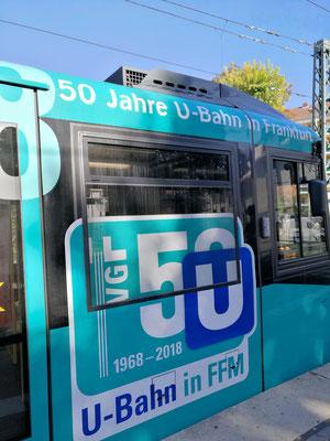 50 Jahre U-Bahn Frankfurt © FFM PHOTO / Klaus Leitzbach
