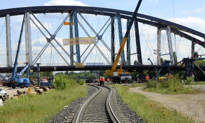 Neue Mainbrücke Ost © FFM PHOTO / Friedhelm Herr
