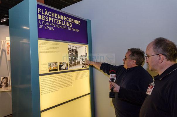 Brieföffnung der Stasi © rheinmainbild.de/Friedhelm Herr