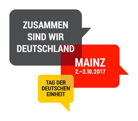 Zemtralfeier zum Tag der Deutschen Einheit in Mainz