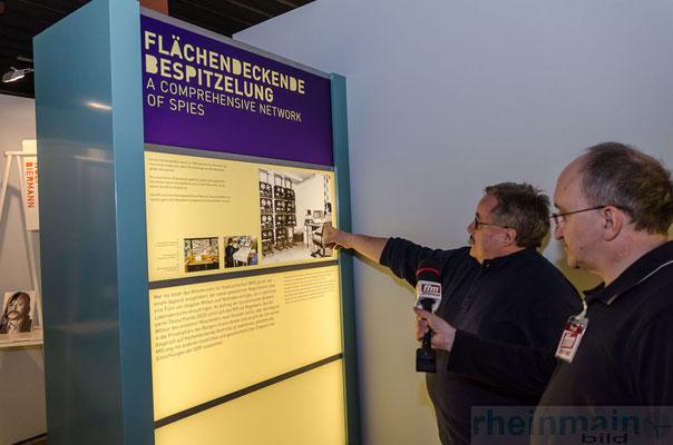 Stasi-Wanderausstellung Mainz © dokfoto.de/Friedhelm Herr