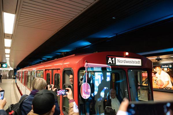 50 Jahre U-Bahn Frankfurt © Friedhelm Herr/FRANKFURT MEDIEN.net