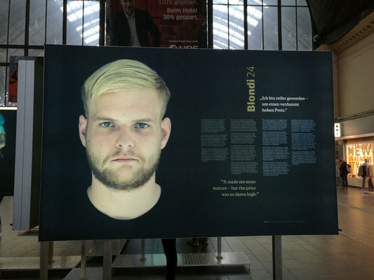 """Fotoausstellung """"entkoppelt"""" © dokubild.de / Klaus Leitzbach"""