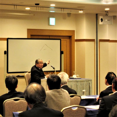 西原元総長の講演会「令和日本の国家像『法治有徳の平和国家』