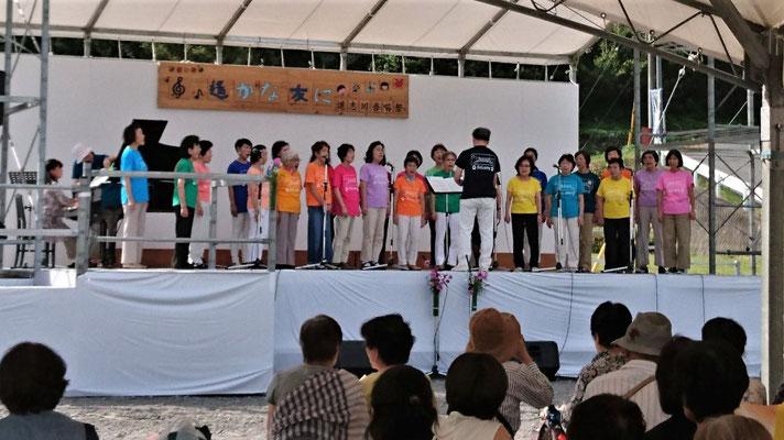 合唱団による合唱発表