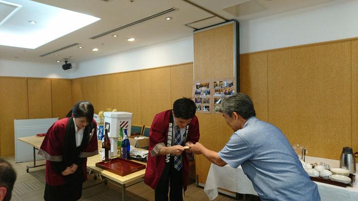 早稲田祭2019への募金贈呈