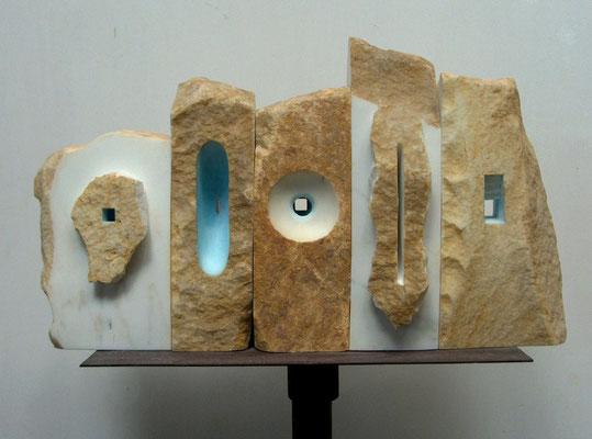 Muro - 2004 - Marmo e colore
