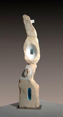 Architetto celeste - 2004 - Marmo e colore