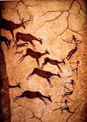 Höhlenmalerei in Valtorta
