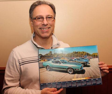 Daniel Duc, propriétaire d'une Mustang Mach 1 1973