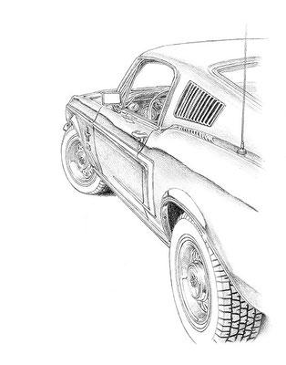 dessin mustang gt  u2013 id u00e9e d u0026 39 image de voiture