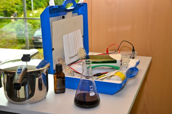 Wasseranalyse-Koffer 2014