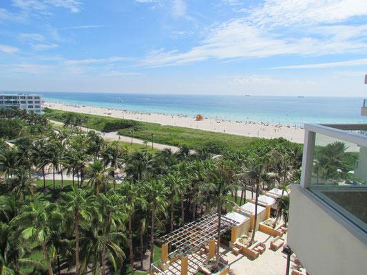 Blick auf den South Beach