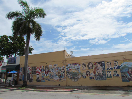 Mural in der Calle Ocho