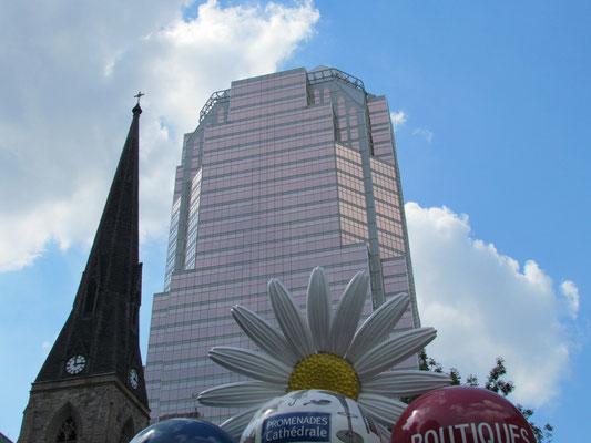 Eingang zur Ville Souterraine an der Christ Church