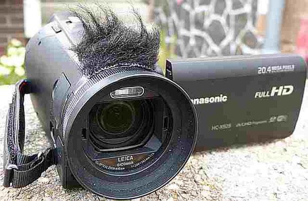 Panasonic HCX 929 kein großer Abstand zum Proficamcorder mehr