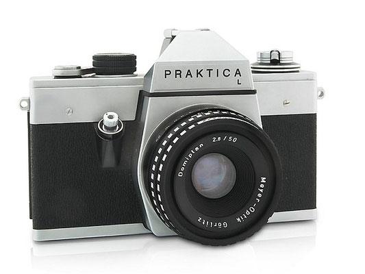 Praktika L, meine erste Spiegelreflexkamera