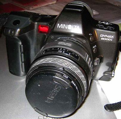 Minolta Dynax 8000i Spiegelreflexkamera