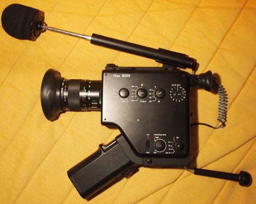 Mit einer Nizo Super 8 Kamera hat es angefangen