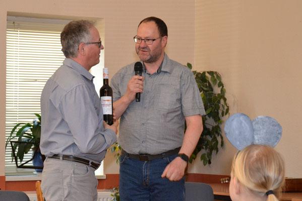 Gratulation an Torsten Kahler zum Geburtstag (Frühlingssingen 2017)
