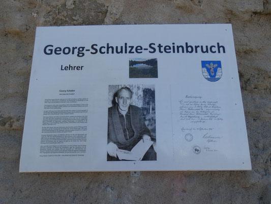 Gedenktafel Georg Schulze