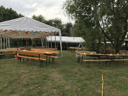 Vorbereitung Steinbruchfest 2017