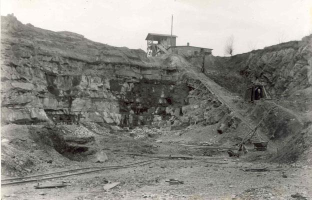 Steinbruch um 1900