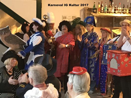 Karneval im Bördehof 2017